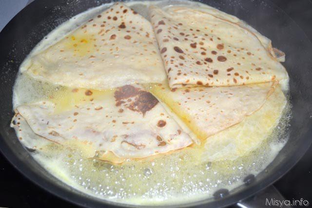 Crepe suzette 16