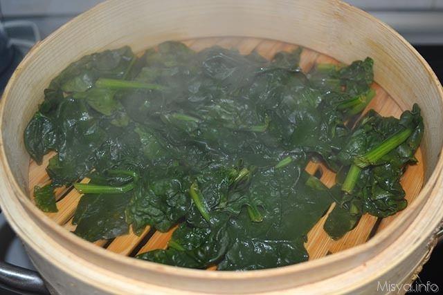 Spatzle agli spinaci 1