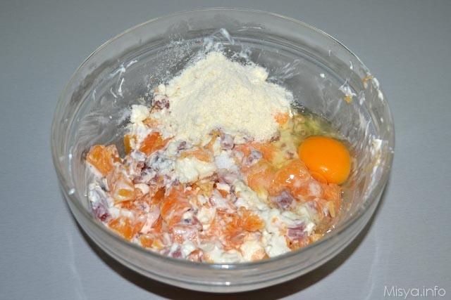 Torta salata zucca e speck 6