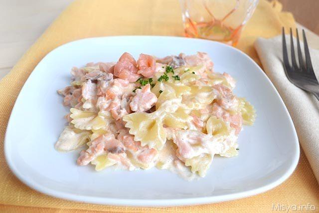 Ricetta pasta al salmone veloce