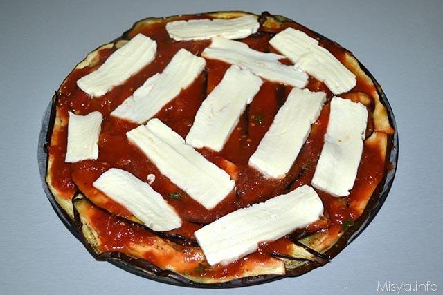 Pizza di melanzane 8
