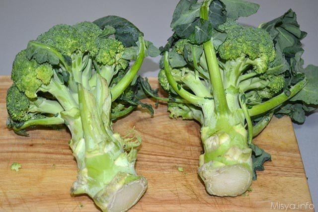 Sformato di broccoli 1