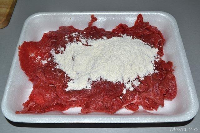 Straccetti di carne con carciofini 2