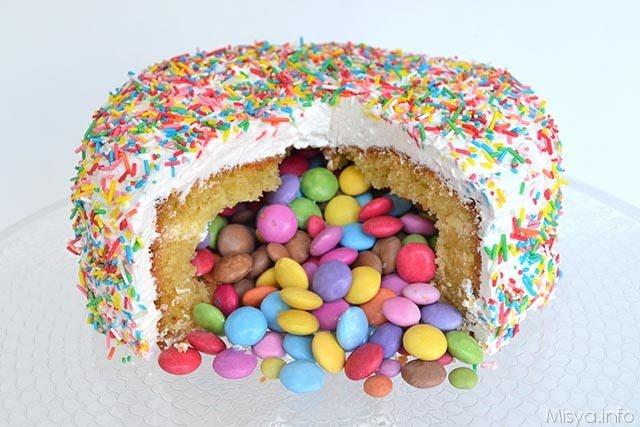 Torta Sorpresa Ricetta Torta Sorpresa Di Misya