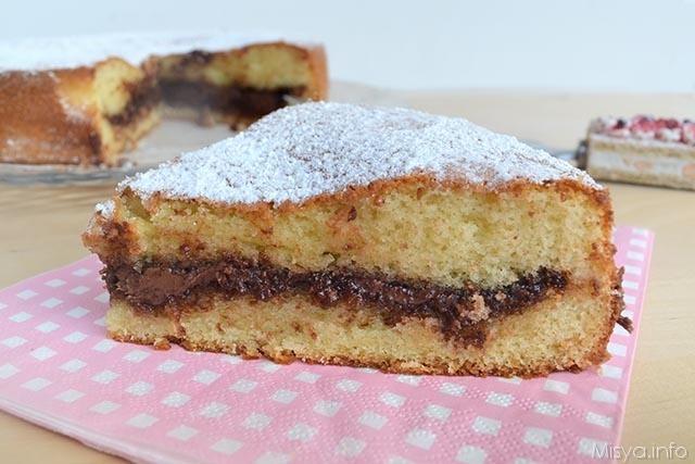 Ricetta torta nutella semplice