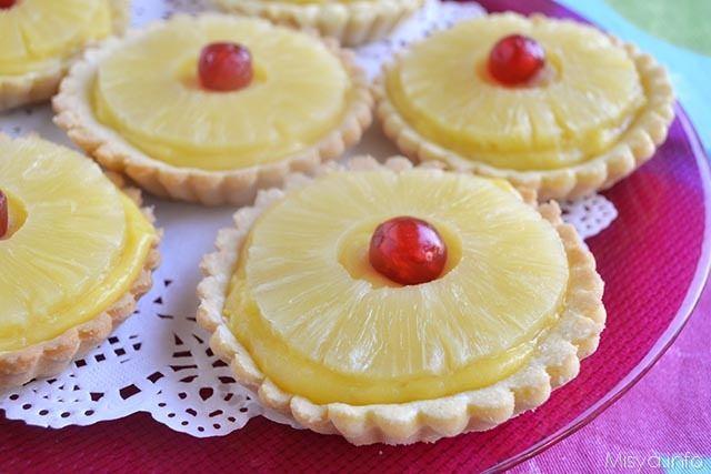 Crostatine all-ananas