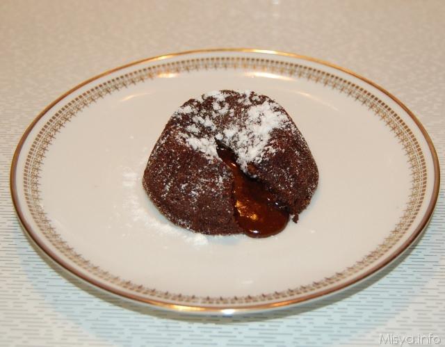 Tortino al cioccolato con cuore morbido bimby