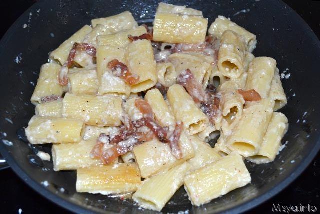 Pasta alla gricia 6
