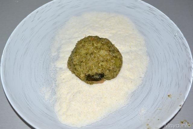 Polpettone broccoli e quinoa 12