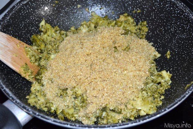 Polpettone broccoli e quinoa 6