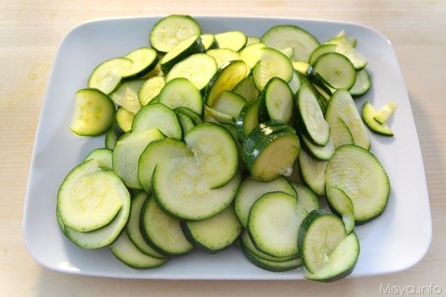 Schiacciatina di zucchine 1