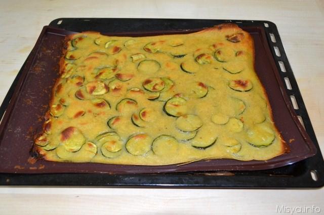 Schiacciatina di zucchine 6