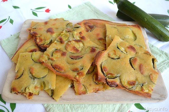 Schiacciatina di zucchine