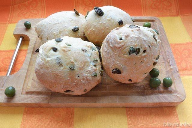 Pane alle olive Bimby