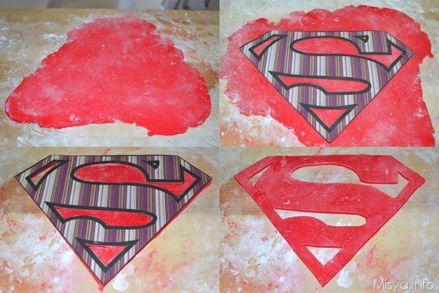 Torta superman 10