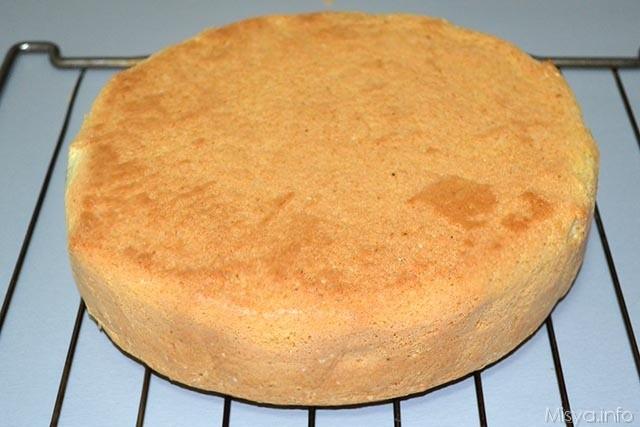 pan di spagna gratella