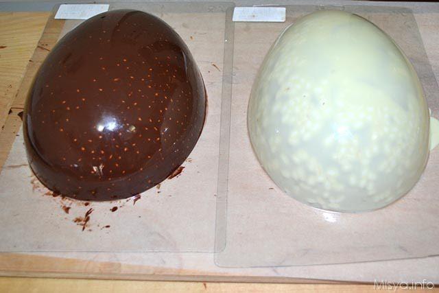 uovo di Pasqua con riso soffiato 14