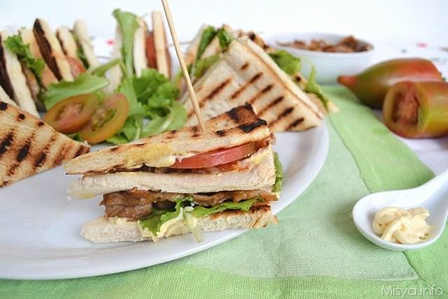Club Sandwich Ricetta Club Sandwich Di Misya