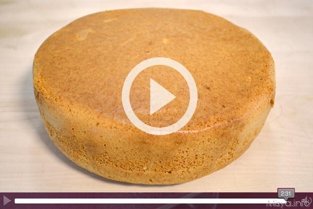 Video ricetta Pan di Spagna