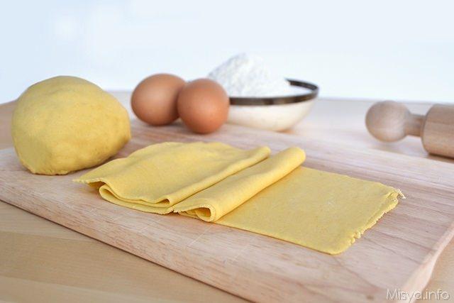 Pasta fresca all'uovo bimby