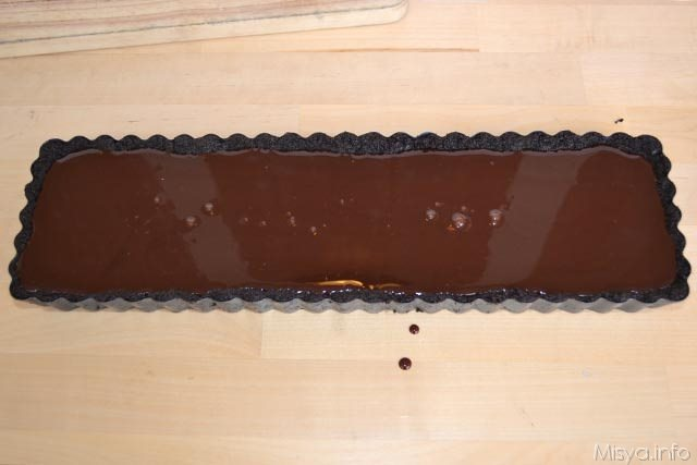 Crostata cioccolato e fragole 10