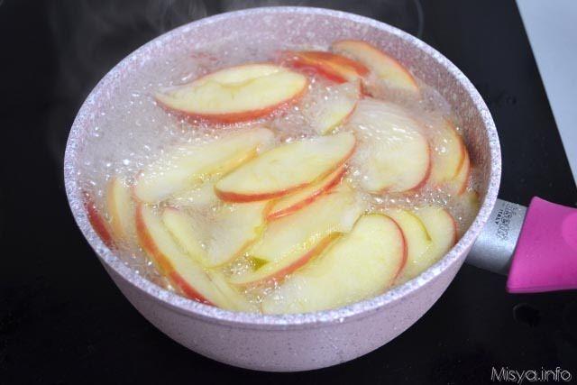 Crostata di rose di mele 11