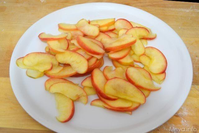 Crostata di rose di mele 12