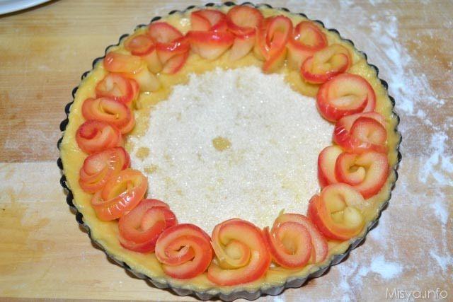 Crostata di rose di mele 18