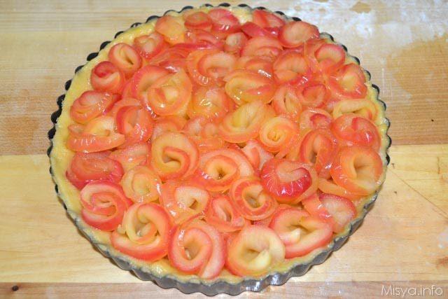 Crostata di rose di mele 19