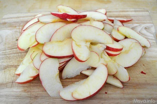 Crostata di rose di mele 8