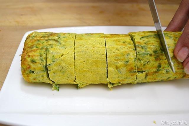 Rotolo di frittata alle zucchine 15