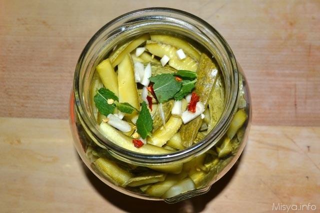 Zucchine sott olio 12