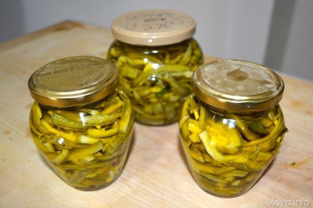 Zucchine sott olio 15