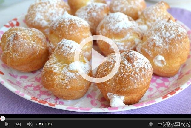Video ricetta bignè