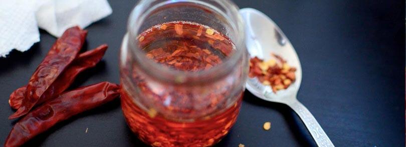 Come fare l'olio piccante