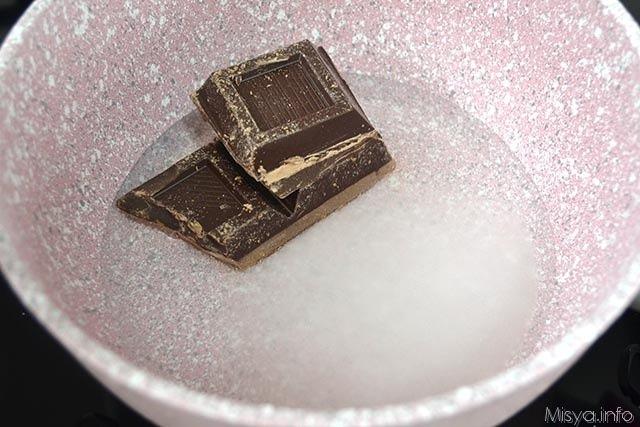 mousse al cioccolato all acqua 1