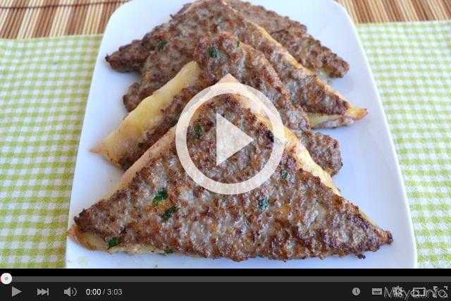 Video ricetta tramezzini di carne