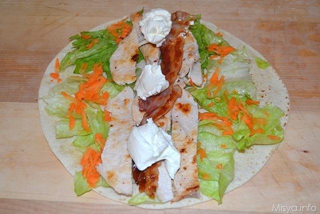 Chicken Wraps 10