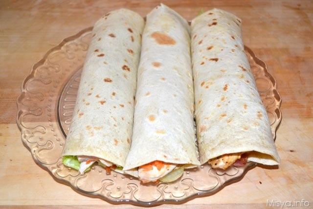 Chicken Wraps 12