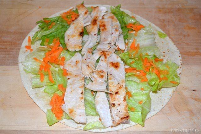 Chicken Wraps 8