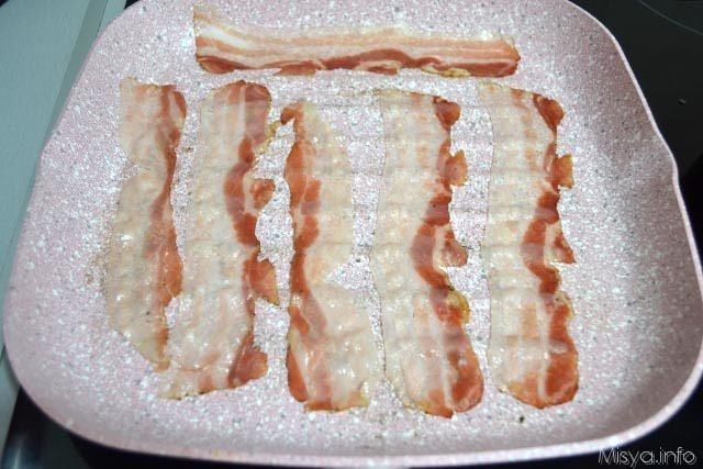 Sformato di riso con bacon e zucchine 4