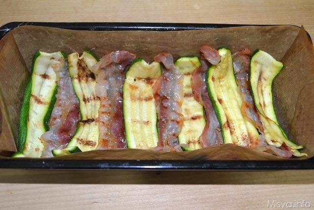 Sformato di riso con bacon e zucchine 6