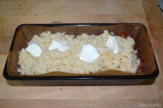 Sformato di riso con bacon e zucchine 8