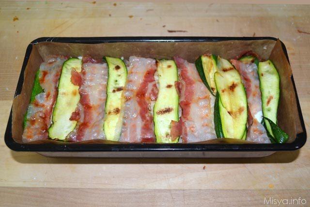 Sformato di riso con bacon e zucchine 9