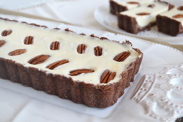 Crostata al cioccolato bianco