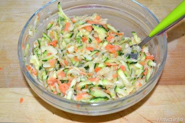 Frittelle di verdure 6