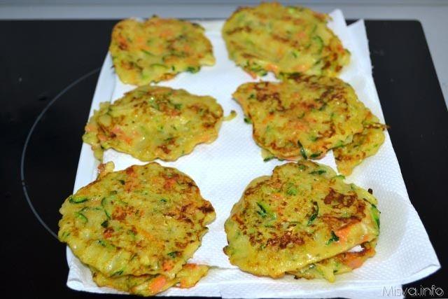 Frittelle di verdure 9