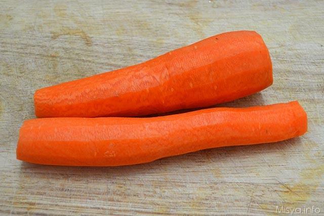 Pasta con pesto di carote 1