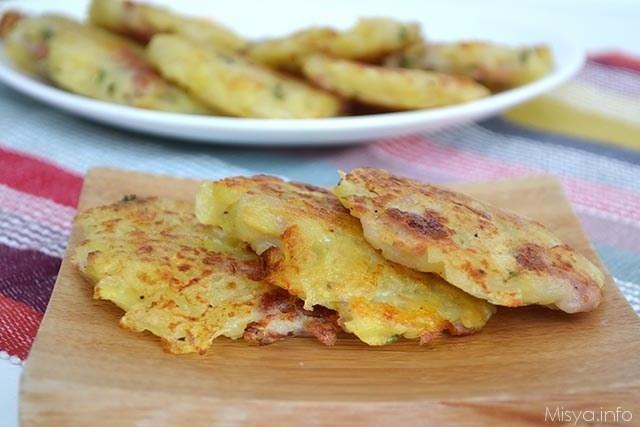 Rosti di patate speck