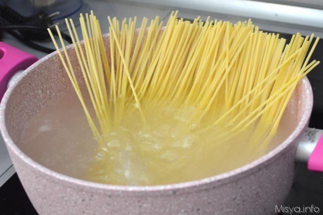 Spaghetti alle erbe 4